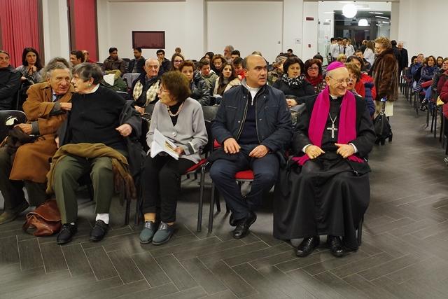 Mons Russotto tra il pubblico