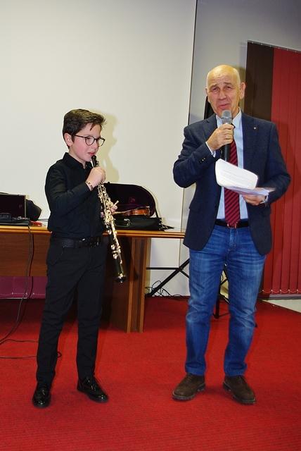 Carlo Mistretta e il prof. Vizzini