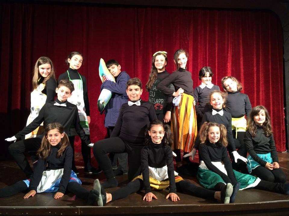 Gli allievi del Teatro Stabile Nisseno