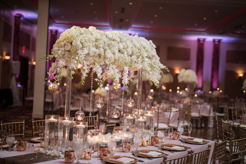 Wedding Table Setting at The Merion