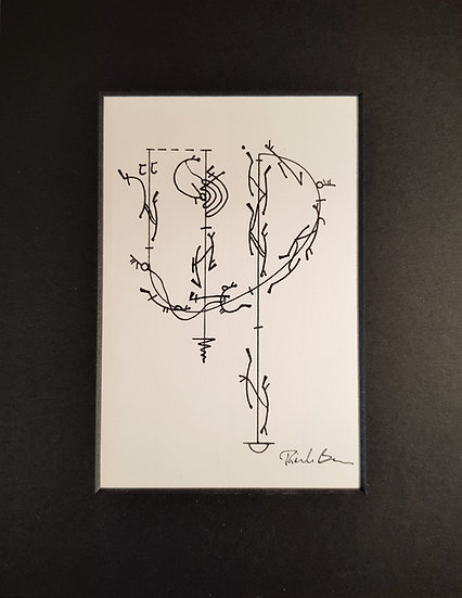 Mounted print - limited edition