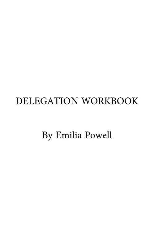 Free Delegation Workbook