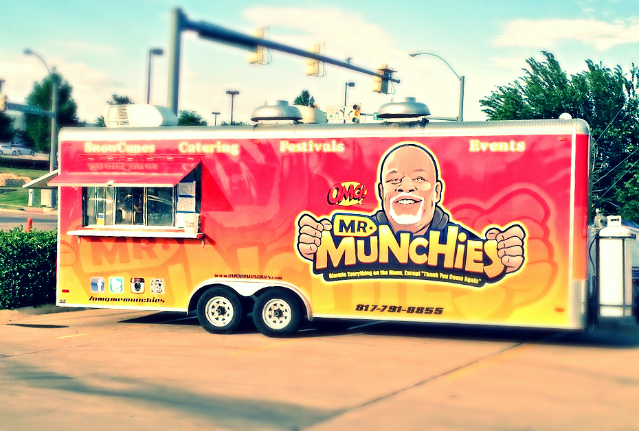 OMG...! Mr. Munchies Food Truck