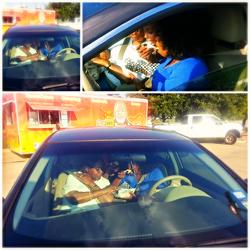 Back Seat Munchin
