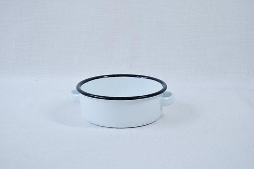 Cazuela blanca 14 cm