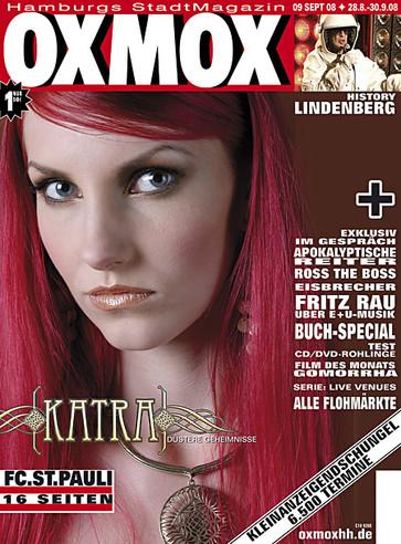 OXMOX MAGAZINE COVER