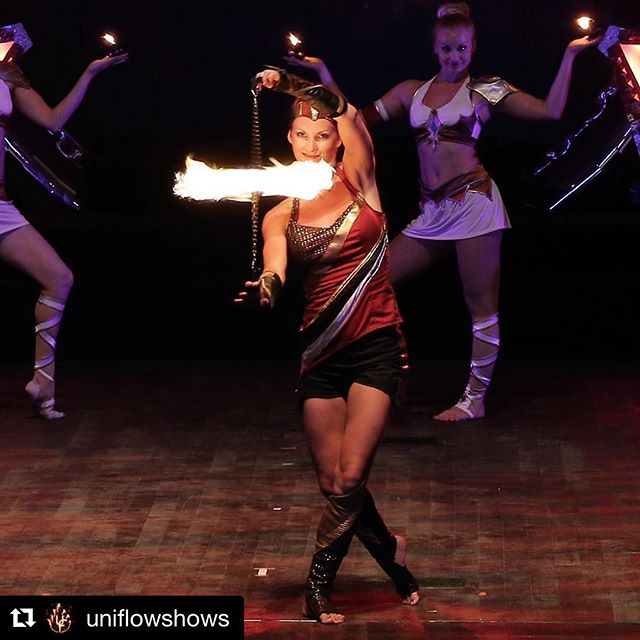 Fire poi duo in Antalya Expo with _phoenix_fire_dancers and _uniflowshows _uniflowshows with _repost