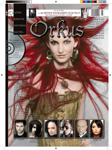 ORKUS MAGAZINE COVER