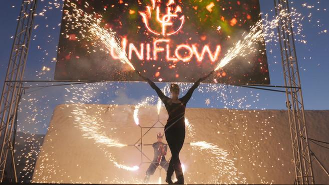 Uniflow tuliesitys