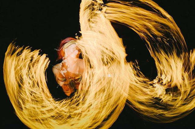 Inside the Fire! Cool photo taken at Kim and Anni's wedding by Jukka Lariola #fire #fireartist #tuli