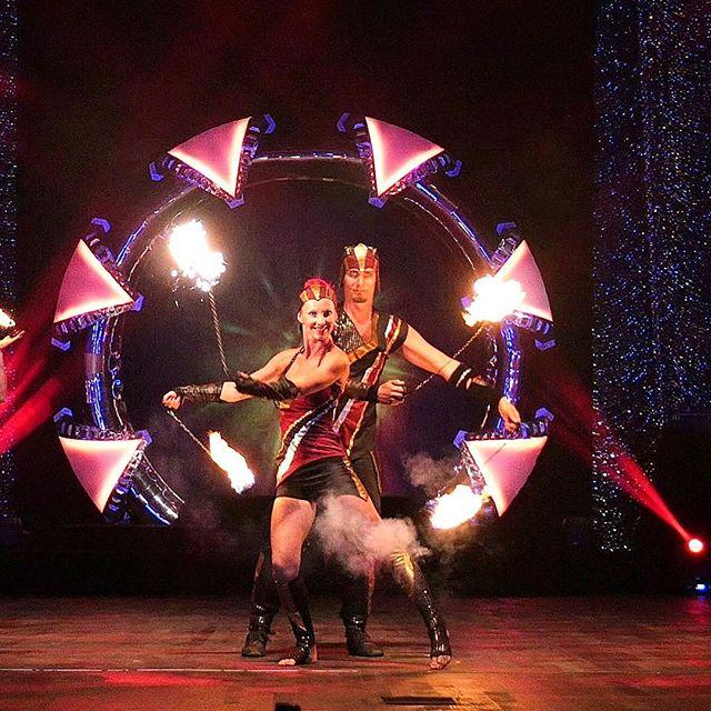 C'mon baby light my fire... Phoenix firedancers show in Antalya Expo 2016