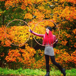#autumn #hoops #hooping #passion