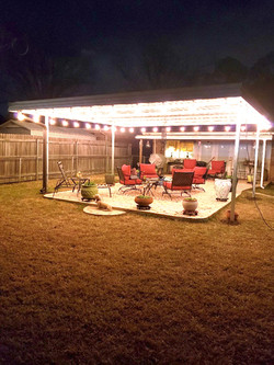 Backyard Custom Patio Cover