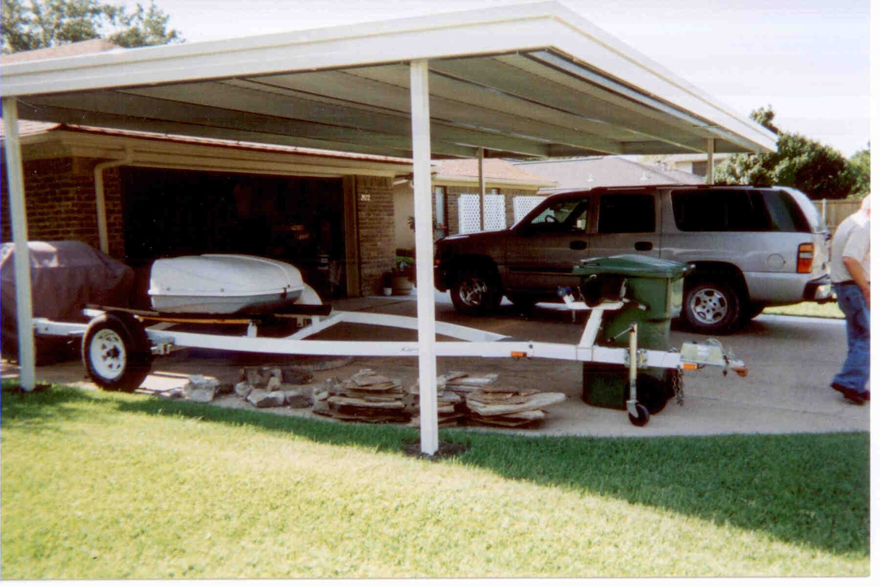 Carport for Boats & Trailers