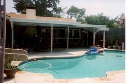 Backyard Pool Patio Cover