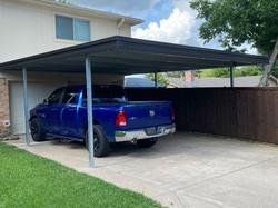 Deluxe Steel Carport for Two Vehicles