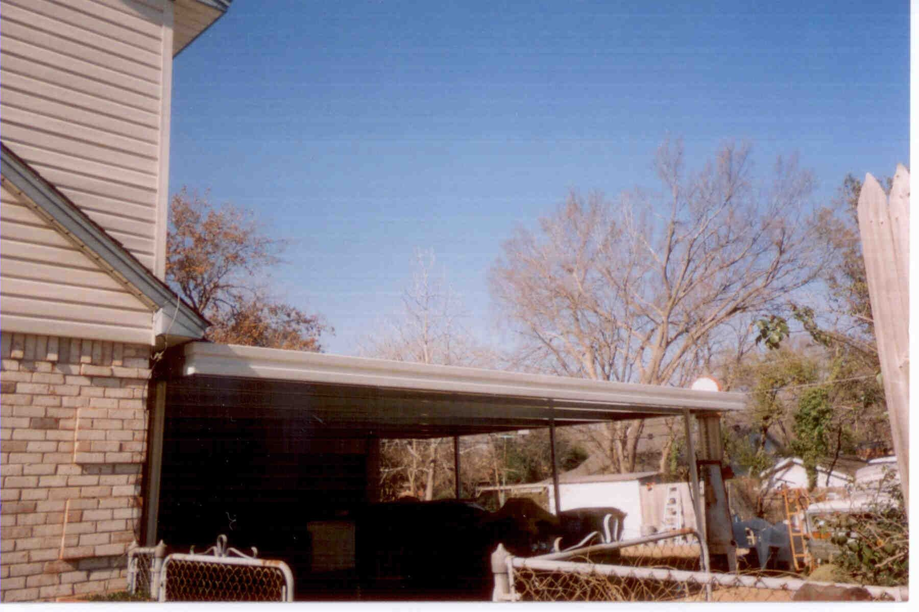 2 Story Stepdown Patio Cover