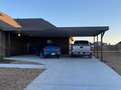 Carport 40 feet 3 Car Covering