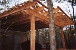 Rough Cedar Patio Cover