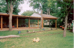 Patio Porch Cover with Lumber