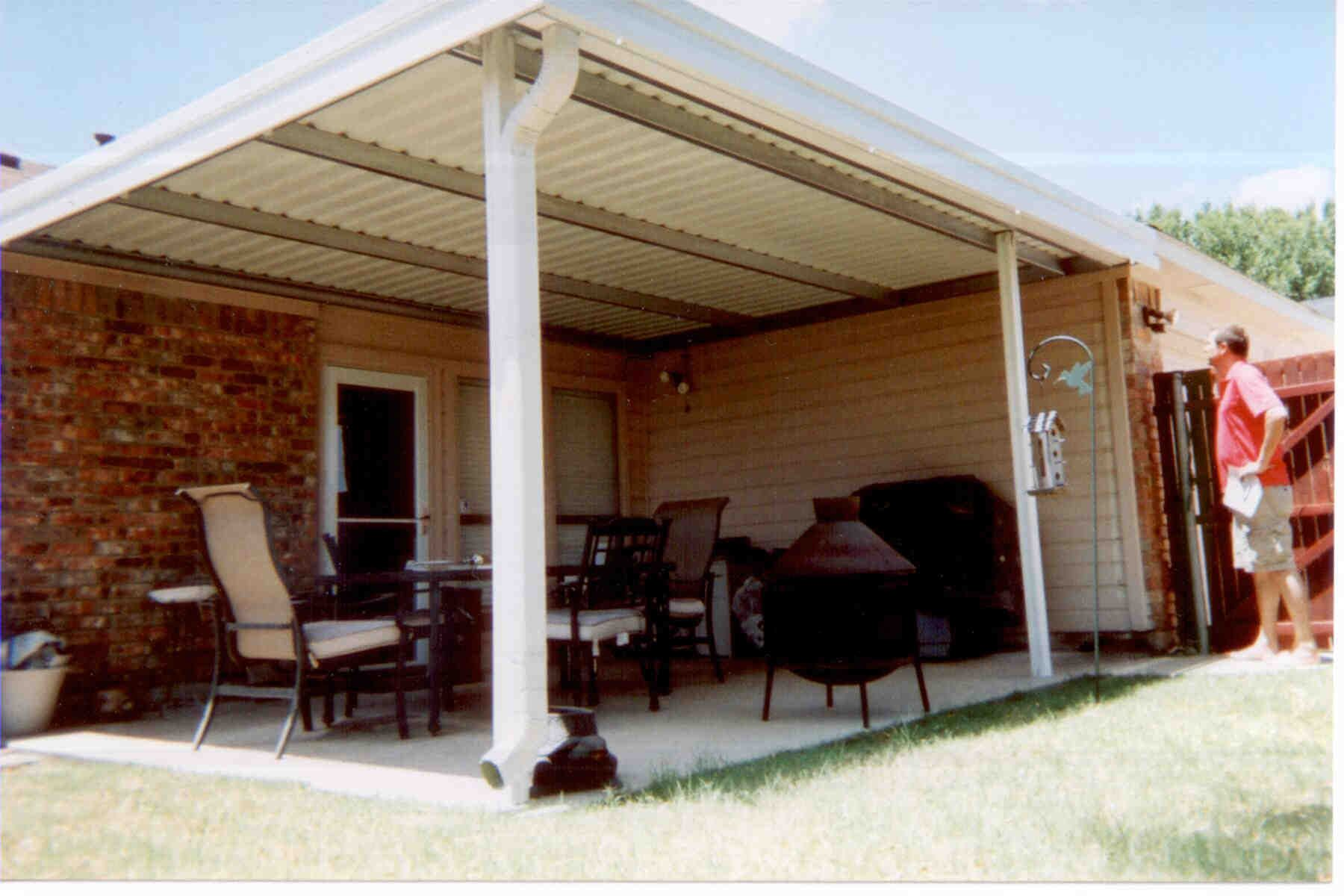 Inside Corner Patio Cover