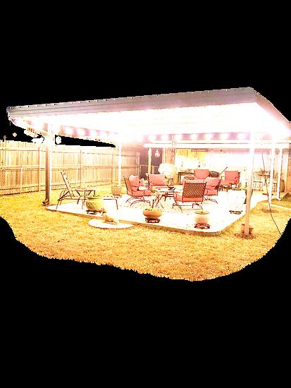 Backyard Custom Patio Cover Rowlett Texa