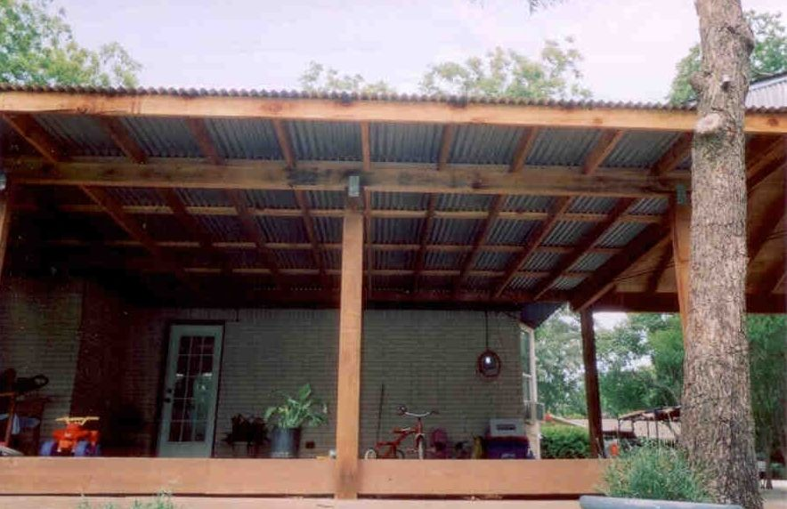Patio Cover with Metal roofing