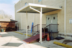Covered Entrance