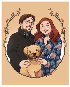 Geoff & Lisa (and Poppy)