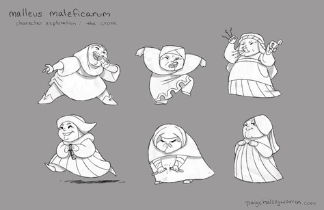 """Crone"" Character Exploration"