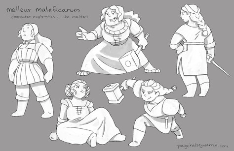 """Maiden"" Character Exploration"