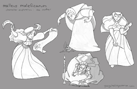 """""""Mother"""" Character Exploration"""
