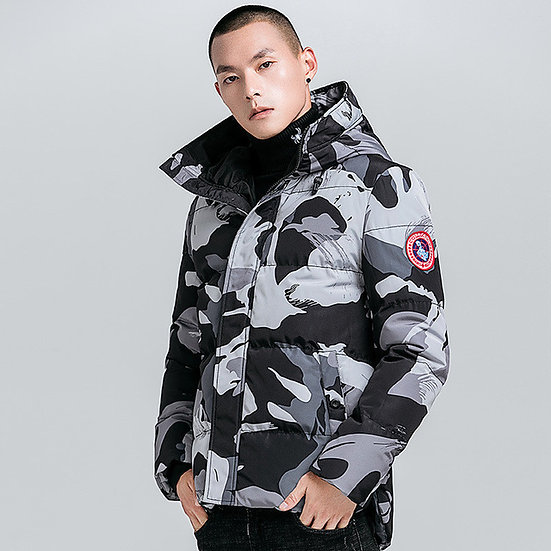 Military Hood Tactical Camo Parka
