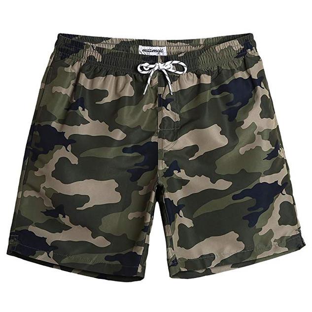 MaaMgic Mens Camo Quickdry Shorts