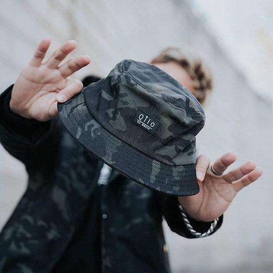 Qilo MultiCam® Bucket Hat in Black