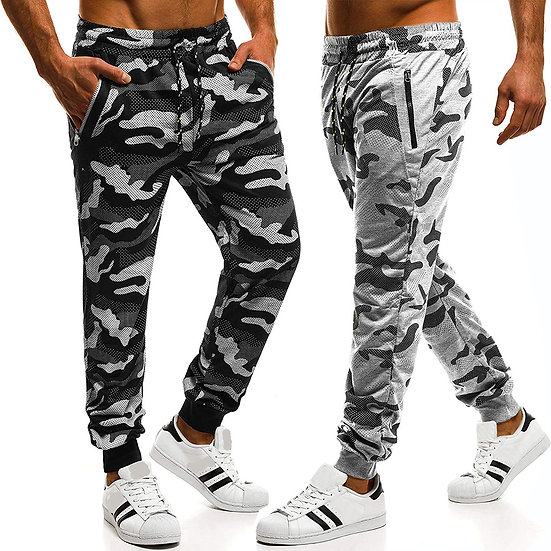 Harem Camo Activewear Pants