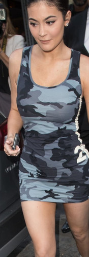 Kylie-Jenner-Camouflage-Dress-Lollapaloo