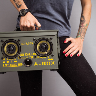 Thodio military bluetooth speakers