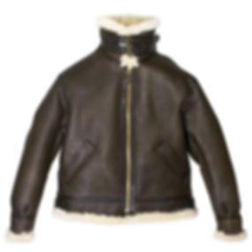 genuine-b-3-bomber-jacket-brown-front-Z2