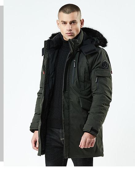 Faux Fur Hooded Winter Parka