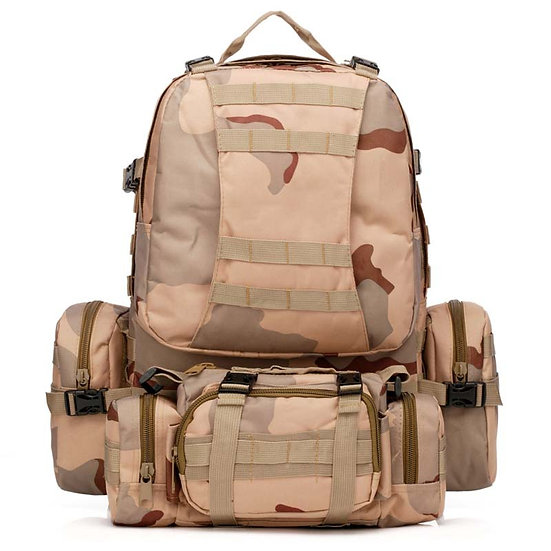 55-70L Modular Backpack with Molle Webbing