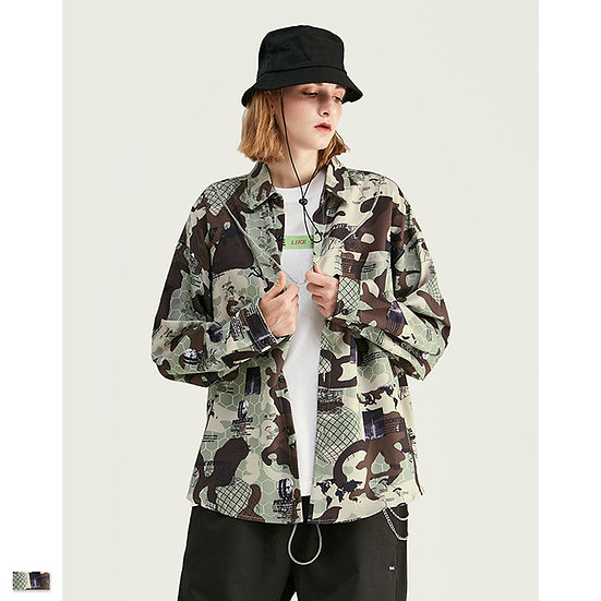 Prism Camo Streetwear Shirt