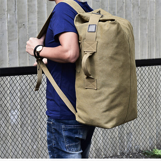 Large Capacity Military-Style Duffel Bag