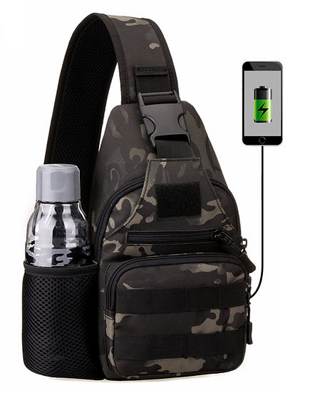 Tactical Shoulder Sling With USB