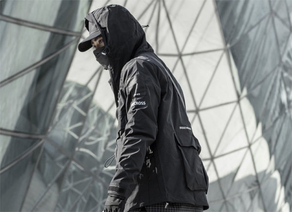 Riot Ready Techwear Windbreaker
