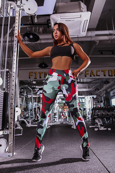 Dynamic camouflage leggings