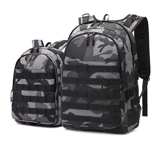 Tactical Camo Schoolbag