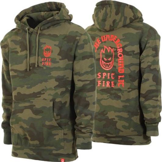 spitfire-steady-rockin-hoodie-forest-cam