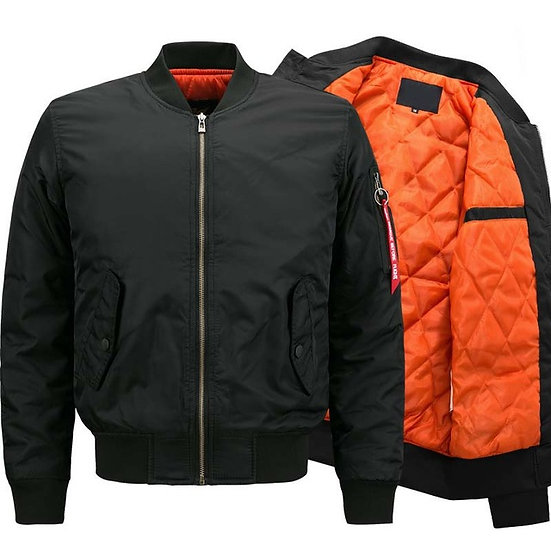 MA-1 Quilted Bomber