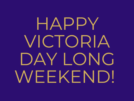 Happy Long Weekend!!